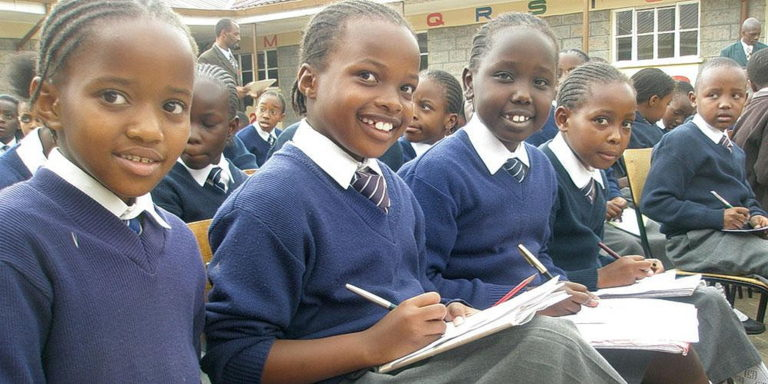 Студенты Кении
